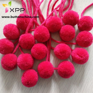 POM Trim Ball Dyeable