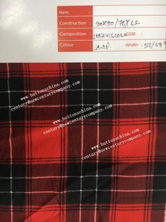 Dtm Color 100% Pocketing Fabric 30X30 / 76X62